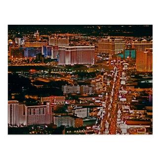 Las Vegas Strip Post Card