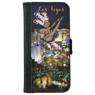 Las Vegas Strip Showgirl iPhone 6 Wallet Case