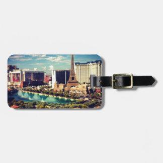 Las Vegas Strip View Luggage Tag