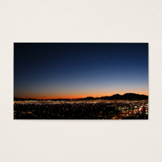 Las Vegas Sunset Business Card