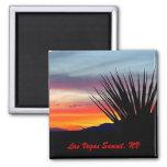Las Vegas Sunset, NV Refrigerator Magnet