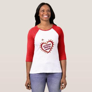 Las Vegas Sweetheart 3/4 Sleeve Raglan T-Shirt