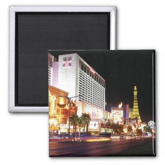 Las Vegas The Strip Square Magnet