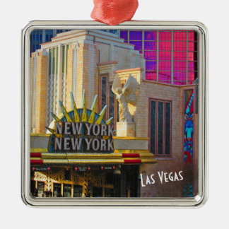 Las Vegas Travel Collection - New York - New York Metal Ornament