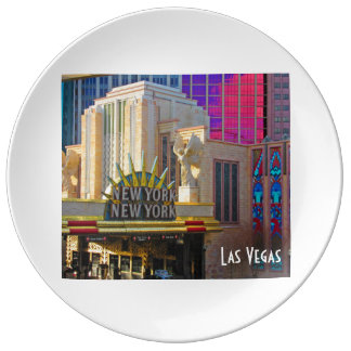 Las Vegas Travel Collection - New York - New York Plate