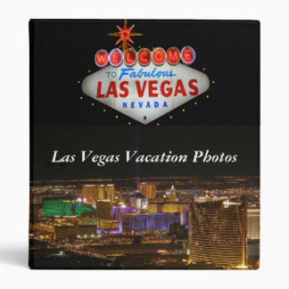 Las Vegas Vacation Photo Binder