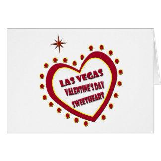Las Vegas Valentine's Day Sweetheart Card