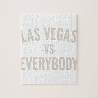 Las Vegas Vs Everybody Jigsaw Puzzle