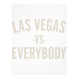 Las Vegas Vs Everybody Letterhead