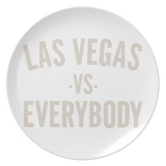 Las Vegas Vs Everybody Plate