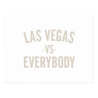 Las Vegas Vs Everybody Postcard