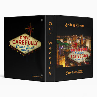 Las Vegas Wedding Binder