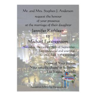 Las Vegas Wedding Boulevard View Card