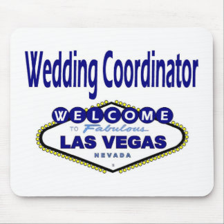 Las Vegas Wedding Coordinator Mousepad