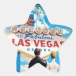 Las Vegas Wedding Invitation Sticker