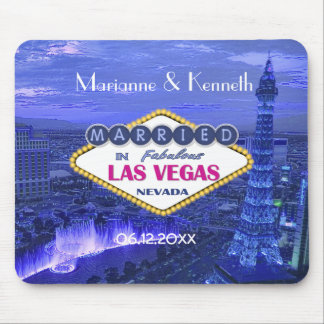 Las Vegas Wedding Keepsake Mousepad