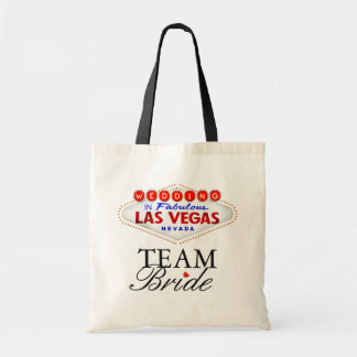Las Vegas Wedding Team Bride Tote Bag