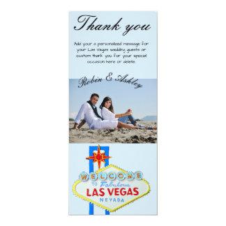 Las Vegas Wedding Thank You Photo Card
