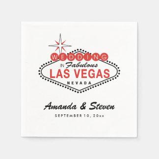 Las Vegas Wedding | Wedding Paper Napkins