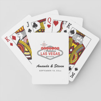 Las Vegas Wedding | Wedding Playing Cards