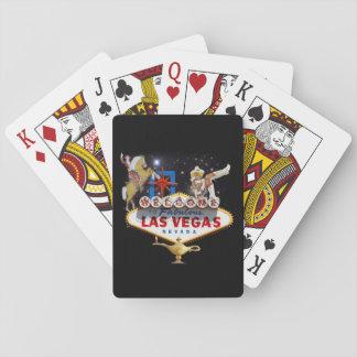 Las Vegas Welcome Sign Poker Deck