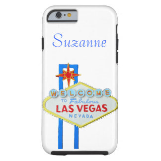 Las Vegas Welcome Sign Tough iPhone 6 Case