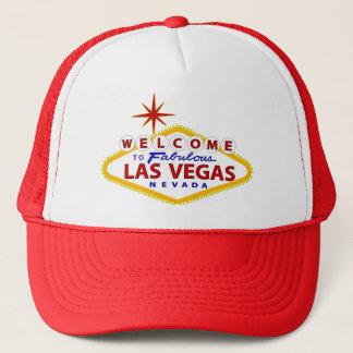 Las Vegas Welcome Sign Trucker Hat