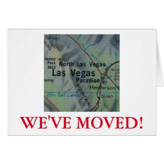Las Vegas We've Moved address announcement