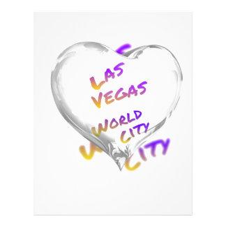Las Vegas world city, Heart Letterhead