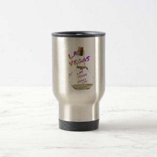 Las Vegas world city, water Bottle Travel Mug