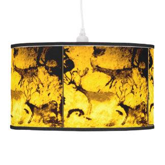Lascaux Deer Herd Pendant Lamp