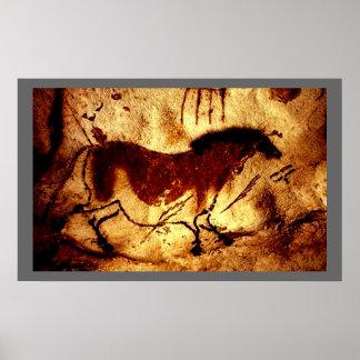 Lascaux Horse Poster