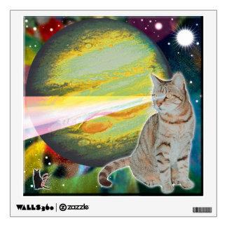 Laser-Cat Mossbody Wall Sticker