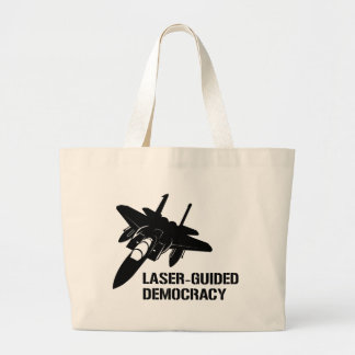 Laser-Guided Democracy / Peace through Firepower Bag