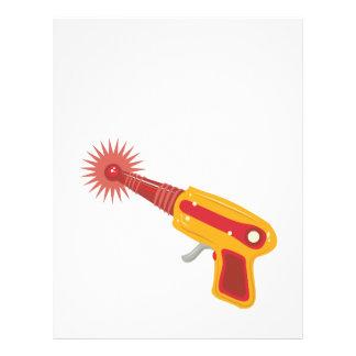 Laser Gun 1 Letterhead Design