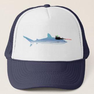Laser Gun Fish Trucker Hat
