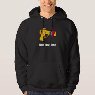 Laser Gun Pew Hooded Pullover