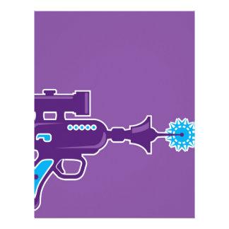 Laser Gun Vector Personalized Letterhead