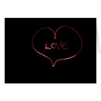 Laser love card