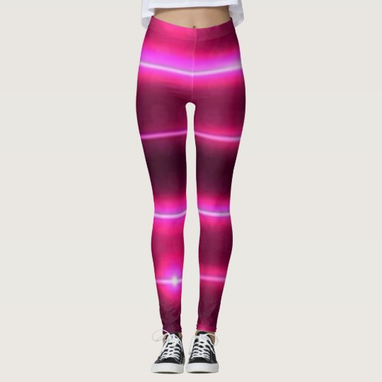laser pink leggings