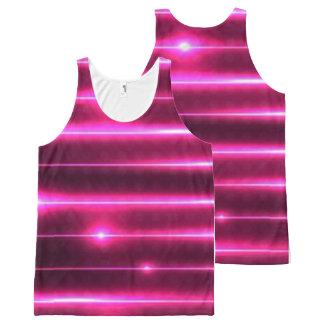 laser pink tank top