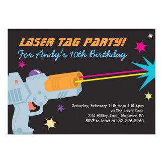 Lazer Tag Invitations as nice invitation design
