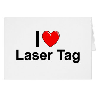 Laser Tag Card
