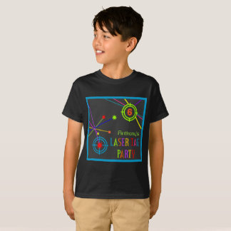 Laser Tag Party Birthday T-Shirt