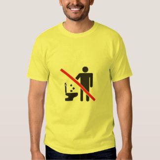 Laser Toilet T-shirts