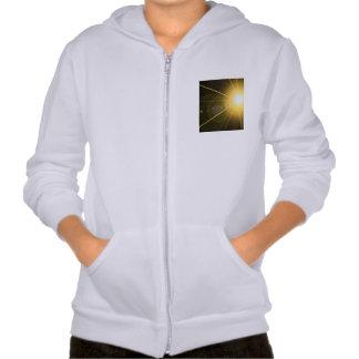 Laser Hooded Pullover