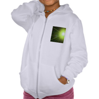 Laser Hooded Pullovers