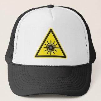 Laser Warning Symbol Cap