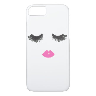 Lash & Lip Love iPhone Case