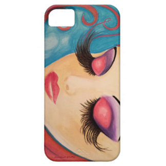 """Lashes"" Phone Case Original Art by LaurieSmith"